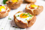 Egg-Stuffed Bread Bowls