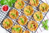 Savory Zucchini & Bell Pepper Muffins