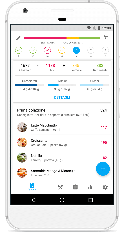 App YAZIO per Android su Google Play