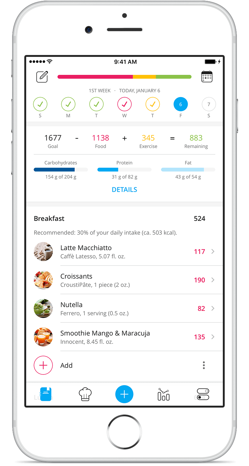 19 Best apps to track diet and/or exercise as of 2019 - Slant