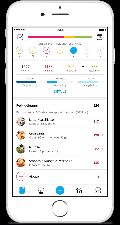 Appli iPhone & iPad YAZIO sur l'App Store