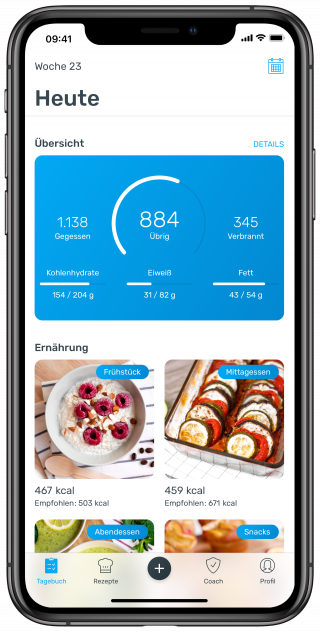 YAZIO Kalorienzähler & Abnehmtagebuch
