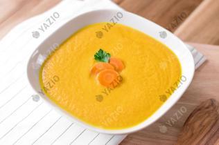 Soupe aux carottes, gingembre et noix de coco