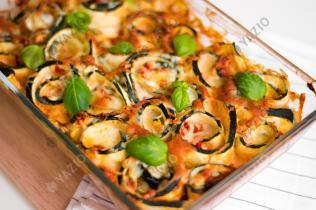 Zucchini Lasagne Rollups