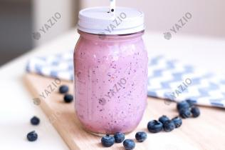 Blueberry Coconut Shake