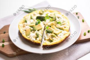 Avocado & Feta Frittata
