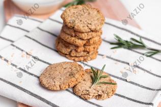 Biscoitos de aveia e alecrim