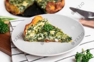 Torta ricotta e spinaci con patate