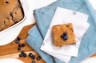 Frühstückskuchen mit Blaubeeren