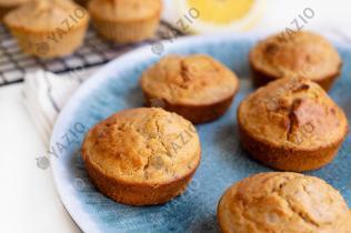Zitronen-Chia-Frühstücksmuffins