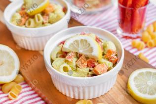 Veganer Makkaroni-Salat