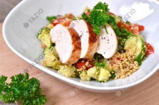 Quinoa Salad with Grilled Chicken