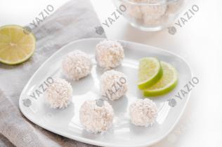 Limetten-Bällchen