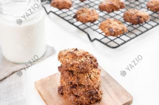 Cookie con scaglie di cioccolato