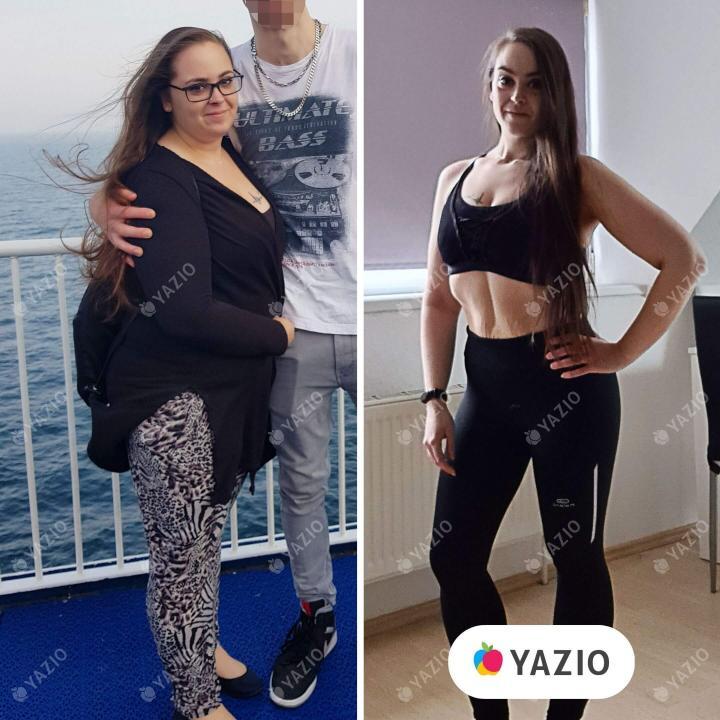 Janet hat 50 kg mit YAZIO abgenommen