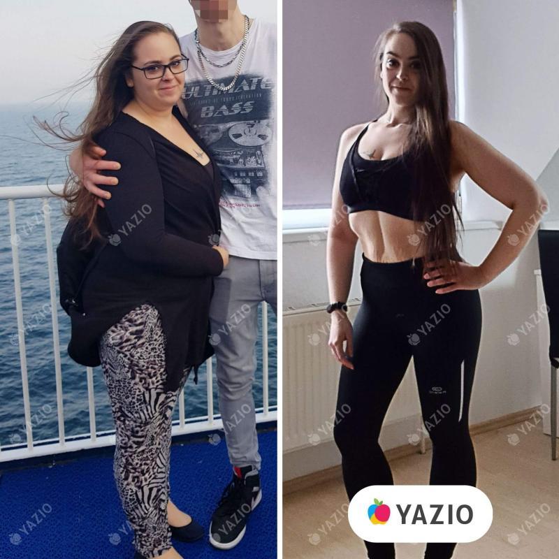 Janet ha perso 50 kg con YAZIO