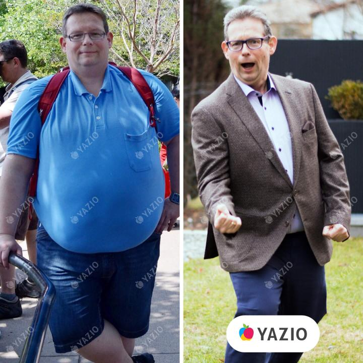 Dietmar lost 143 lb with YAZIOsuccess-story-of
