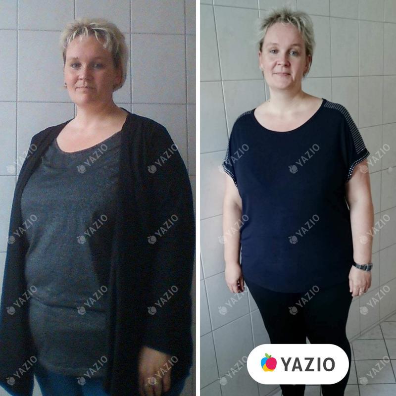 Heike hat 18 kg mit YAZIO abgenommen