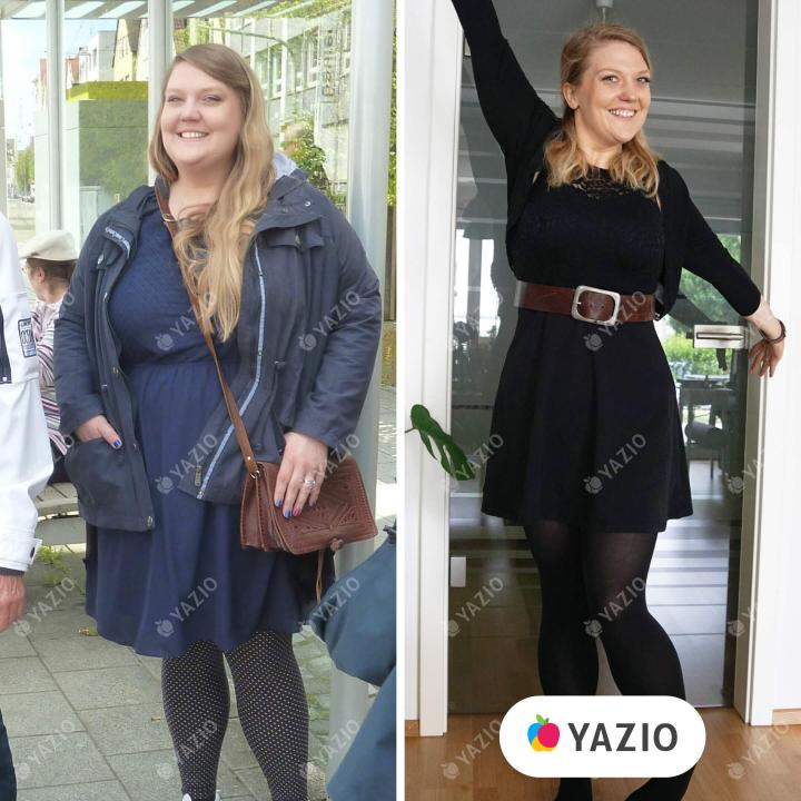 Lena lost 137 lb with YAZIOsuccess-story-of