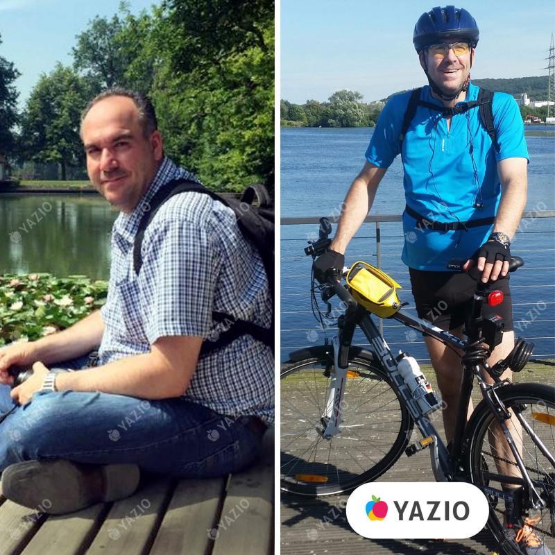 Matthias hat 30 kg mit YAZIO abgenommen