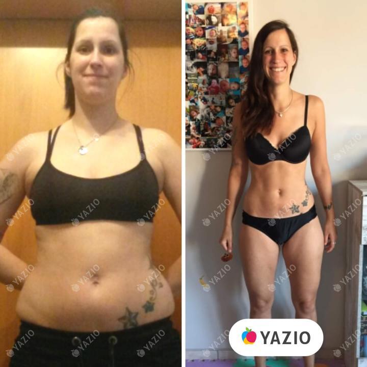 Sandra a perdu 35 kg avec YAZIO