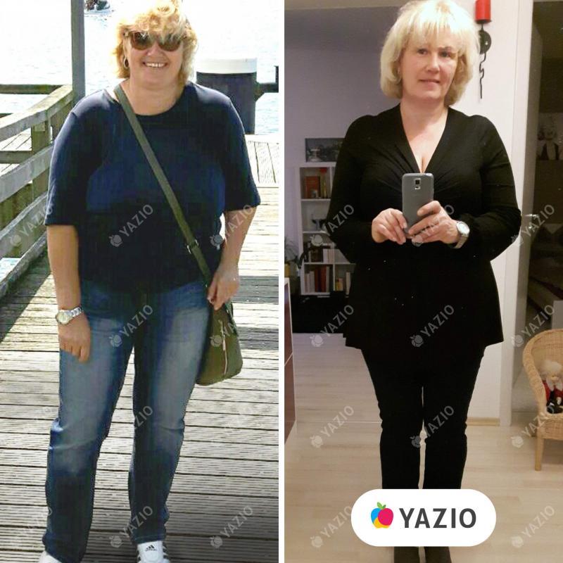 Petra hat 14 kg mit YAZIO abgenommen