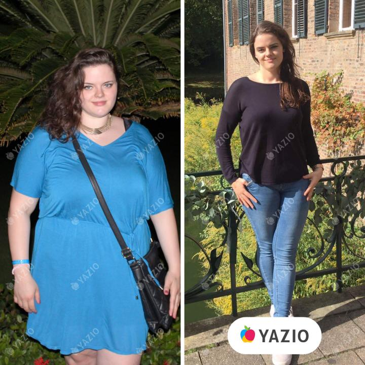 Daniela a perdu 41 kg avec YAZIO