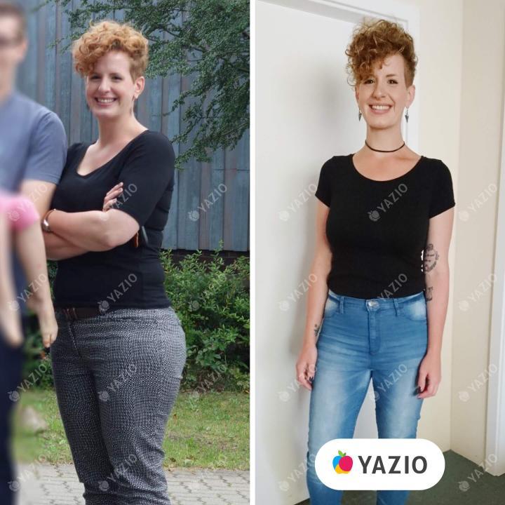 Verena hat 26 kg mit YAZIO abgenommen