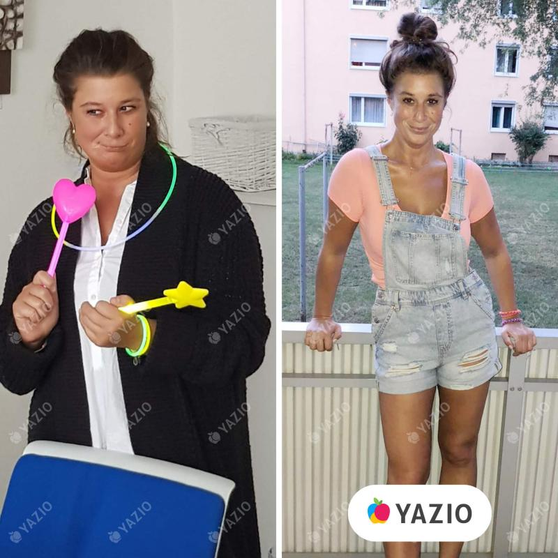 Susanne a perdu 24 kg avec YAZIO