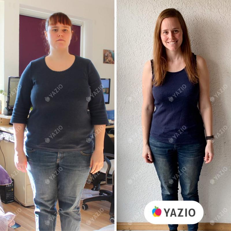 Britta ha perdido 30 kg con YAZIO