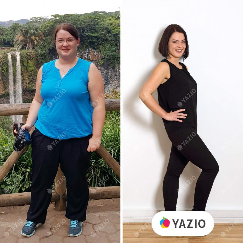 Patricia ha perso 40 kg con YAZIO