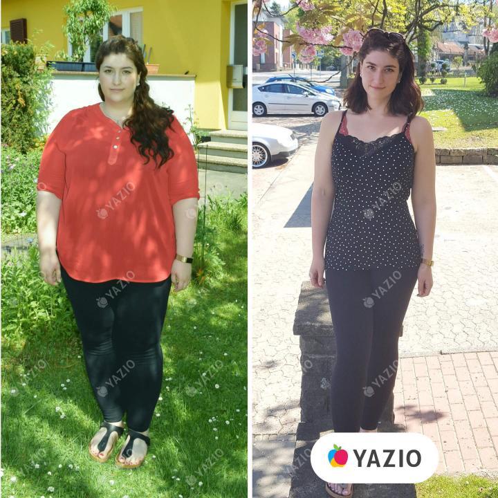 Michèle a perdu 62 kg avec YAZIO