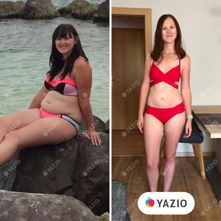 Susanne a perdu 20 kg avec YAZIO