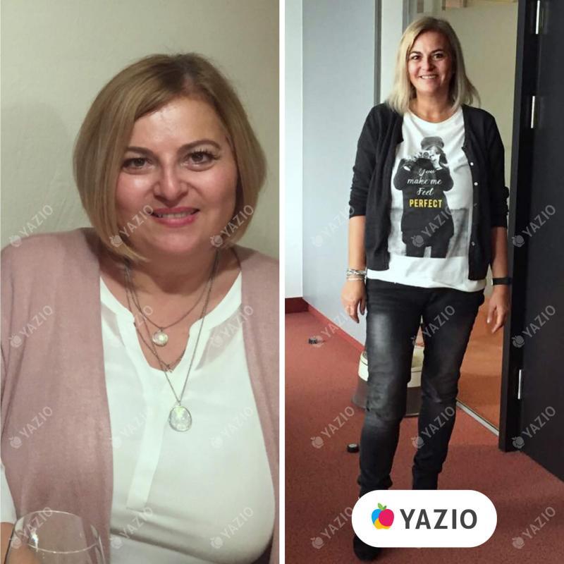 Karin hat 18 kg mit YAZIO abgenommen