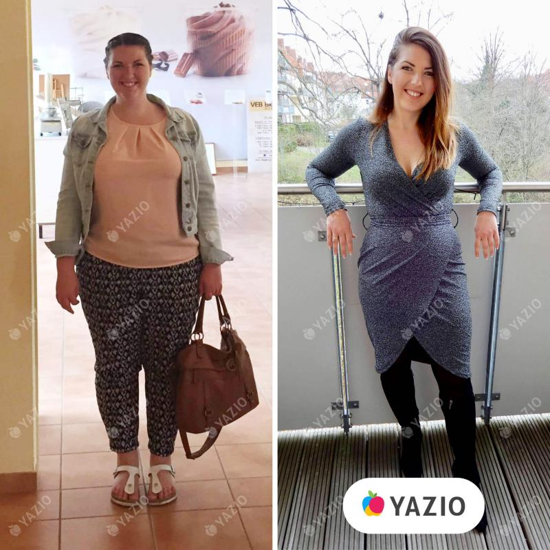 Annemarie ha perso 40 kg con YAZIO