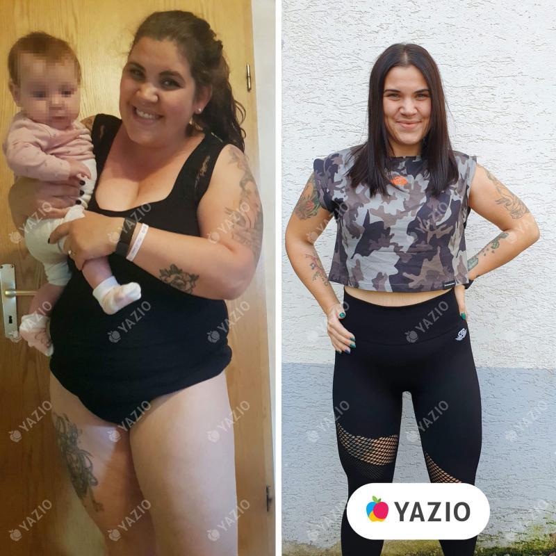 Mara a perdu 35 kg avec YAZIO