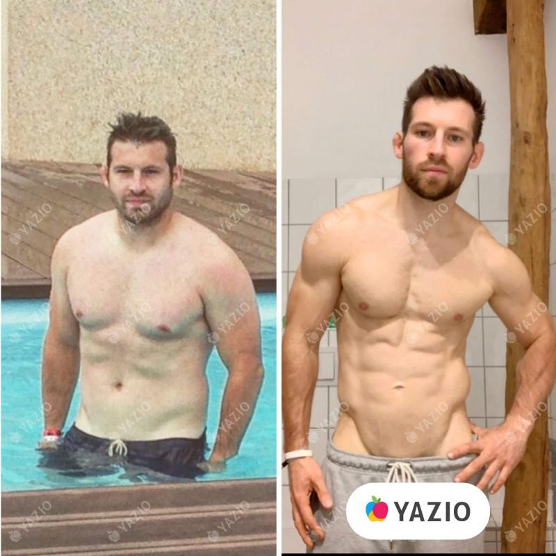 Brice a perdu 20 kg avec YAZIO