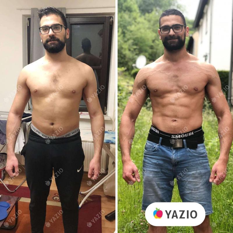 Ali hat 11 kg mit YAZIO abgenommen