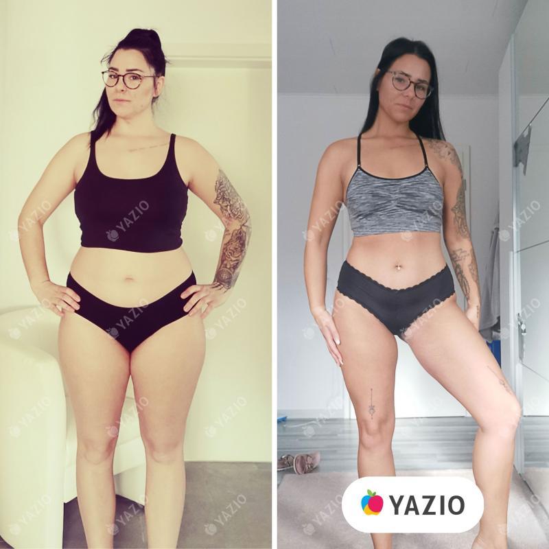 Kim hat 12 kg mit YAZIO abgenommen