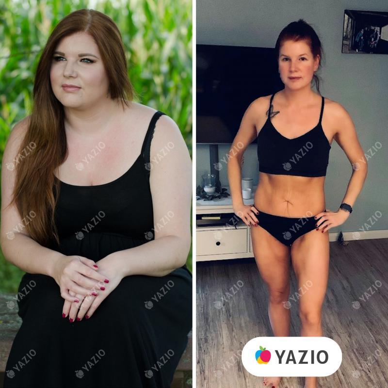 Kim ha perso 41 kg con YAZIO
