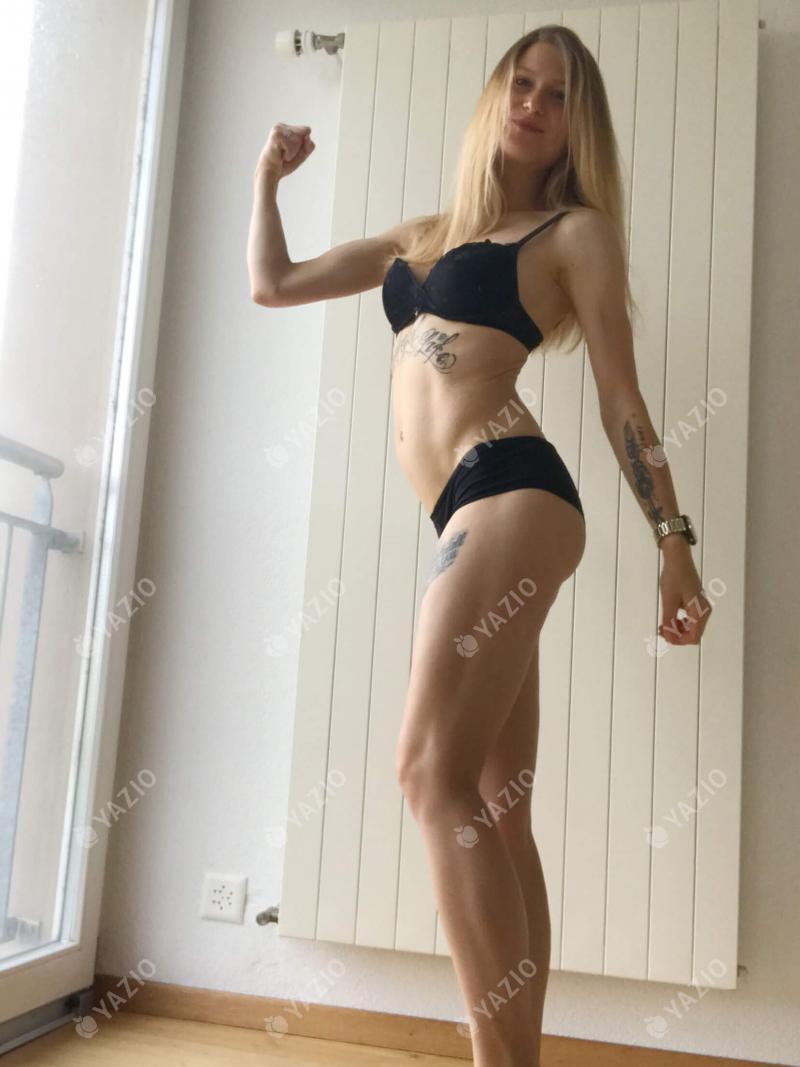 Jennifer ha ganado 17 kg, su historia de éxito