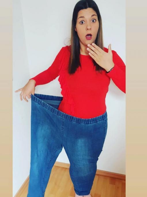 Janna hat 85 kg abgenommen, ihre Erfolgsgeschichte