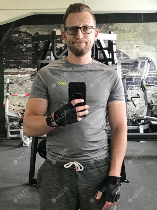 Uwe hat 14 kg zugenommen, seine Erfolgsgeschichte