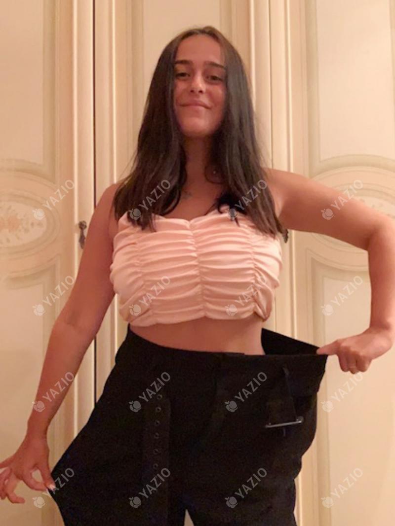 Benedetta ha perdido 15 kg, su historia de éxito